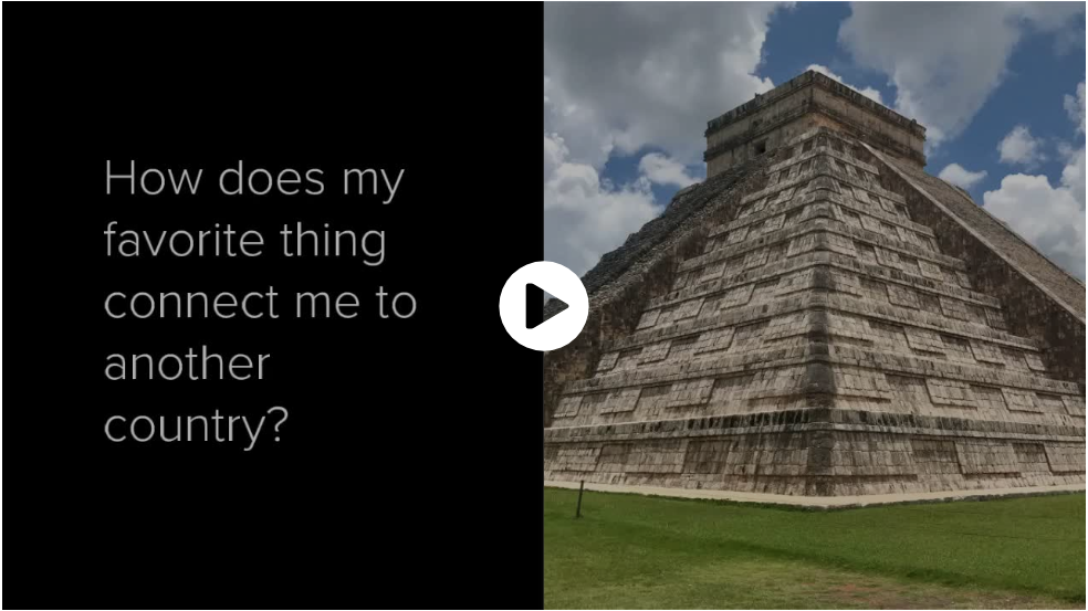 Adobe Sparks video about connections to Mexico