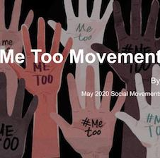 Me too movement presentation cover slide