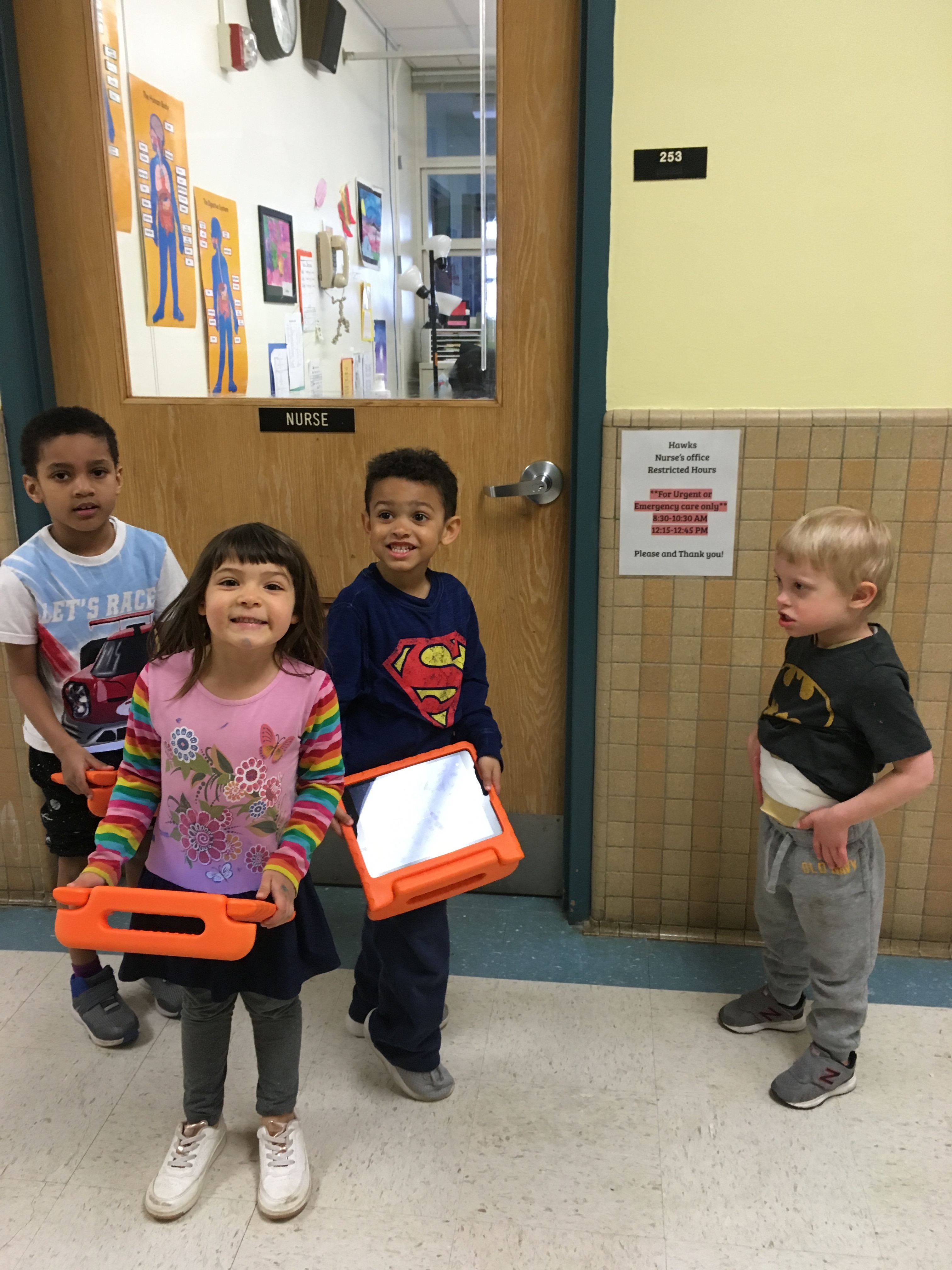 "Pre-K students engage in the ""I Have Something to Say"" case study"